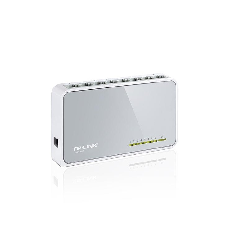 Switch LAN 8 θυρών 10/100Mbs TP-LINK TL-SF1008D v9.0