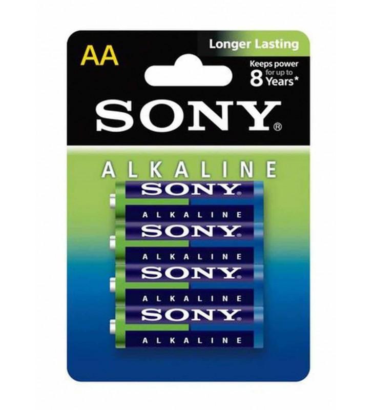 ΑΛΚΑΛΙΚΗ ΜΠΑΤΑΡΙΑ Sony Longer Lasting LR6 size AA 1.5v 4Τεμ.