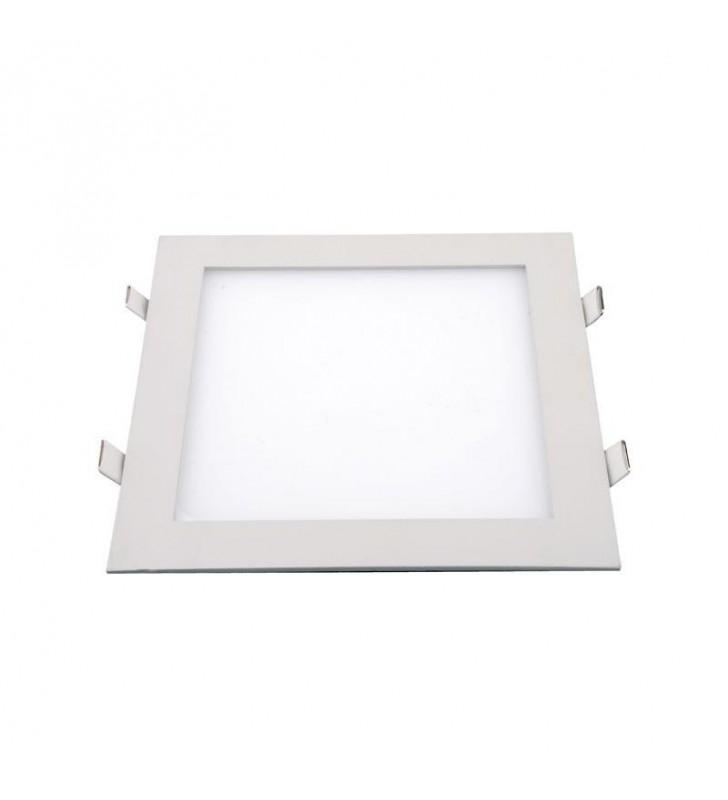ΠΑΝΕΛ LED Slim 20w 4000k 1800lm ΤΕΤΡΑΓΩΝΟ 225 x 225 ΛΕΥΚΟ Eurolamp (145-68021)