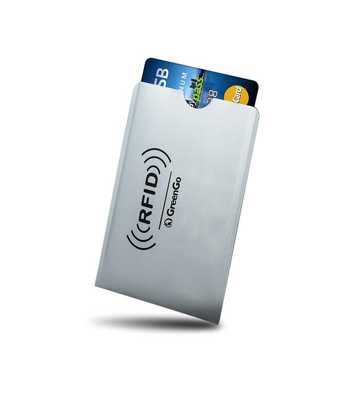 ΘΗΚΗ Paypass προστασίας ασύρματης ανάγνωσης πιστωτικών καρτών GREENGO GSM017598