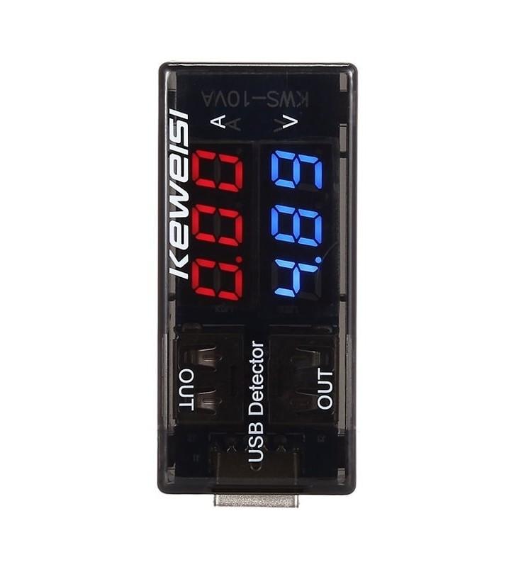 Συσκευή ελέγχου θύρας USB, 2x USB Output, 3-9V KWS-10VA KEWEISI CAB-U096