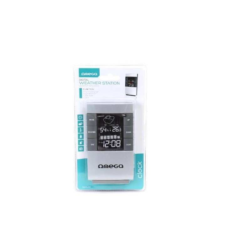 Ψηφιακό Θερμόμετρο Υγρόμετρο Εσωτερικού/Εξωτερικου Χώρου OWS26C OMEGA