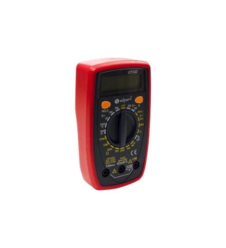 Ψηφιακό Πολύμετρο DT33D με Buzzer