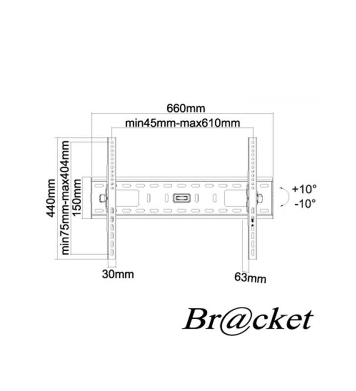 """ΒΑΣΗ ΤΗΛΕΟΡΑΣΗΣ 37"""" - 70"""" BRACKET LCD9060"""