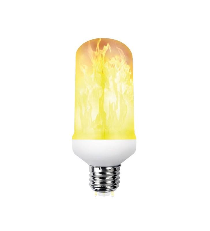 ΛΑΜΠΑ LED SMD ΦΛΟΓΑ Τ60 5w E27 1500k EUROLAMP (147-81900)