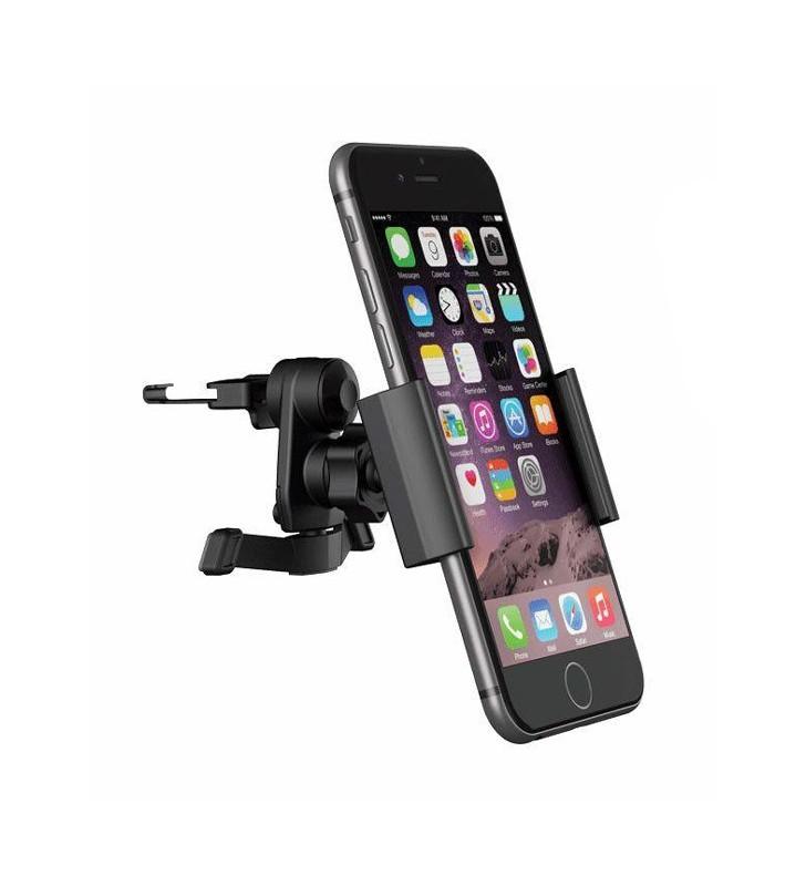 Βάση αεραγωγού αυτοκινήτου για Smartphone, Black (ACC-106)