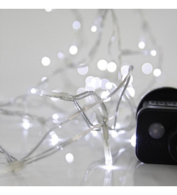ΦΩΤΑΚΙΑ LED 100L ΜΕ ΠΡΟΓΡΑΜΜΑ, ΕΞΩΤ. ΧΩΡΟΥ 31v ΔΙΑΦΑΝΟ ΚΑΛ. / ΨΥΧΡΟ ΛΑΜΠΑΚΙ - (600-11560)