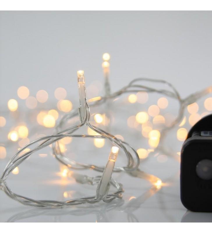 ΦΩΤΑΚΙΑ LED 240L ΜΕ ΠΡΟΓΡΑΜΜΑ, ΕΞΩΤ. ΧΩΡΟΥ 31v ΔΙΑΦΑΝΟ ΚΑΛ. / ΘΕΡΜΟ ΛΑΜΠΑΚΙ - (600-11581)