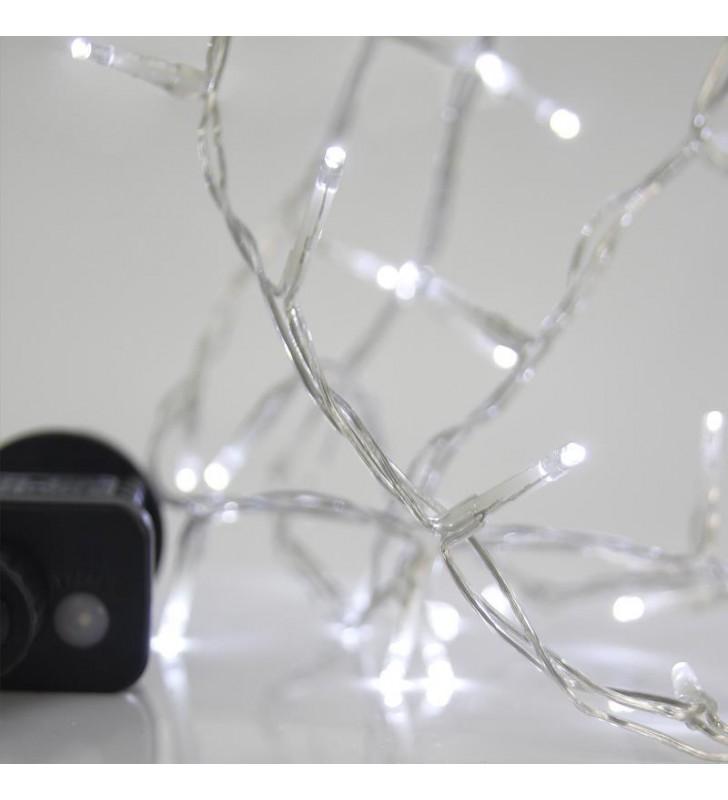 ΦΩΤΑΚΙΑ LED 240L ΜΕ ΠΡΟΓΡΑΜΜΑ, ΕΞΩΤ. ΧΩΡΟΥ 31v ΔΙΑΦΑΝΟ ΚΑΛ. / ΨΥΧΡΟ ΛΑΜΠΑΚΙ - (600-11580)