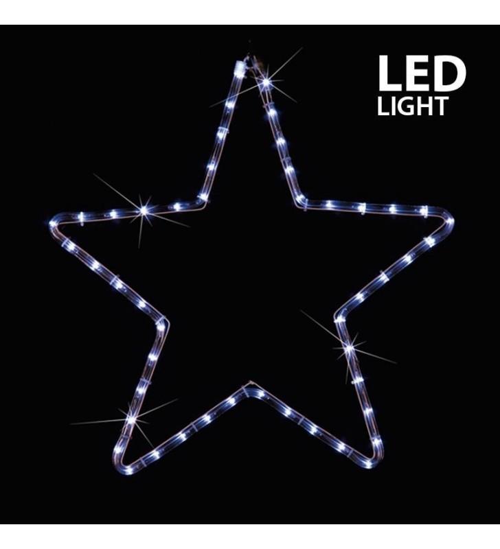 ΑΣΤΕΡΙ ΛΕΥΚΟ LED ΜΕ 2 Μ. ΦΩΤ/ΝΑ, 56X56 ΕΚ. IP44 - (600-20100)
