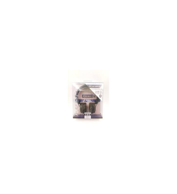 Ακουστικά Κεφαλής με μικρόφωνο,Bluetooth Headphone Element HD-800BT-G Fabric