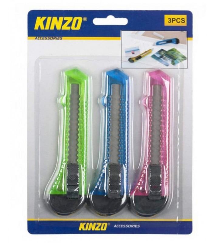 Κοπίδι Μεγάλο Kinzo 49196 Σέτ 3 Τεμαχίων