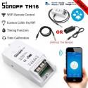 Original Sonoff TH16 - Έξυπνος Ασύρματος Διακόπτης Wifi Για Ελεχγο Θερμοκρασίας και Υγρασίας 16A