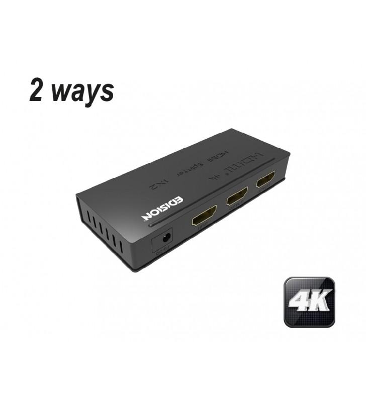 EDISION 4K HDMI Splitter 1x2 (07-07-0101)