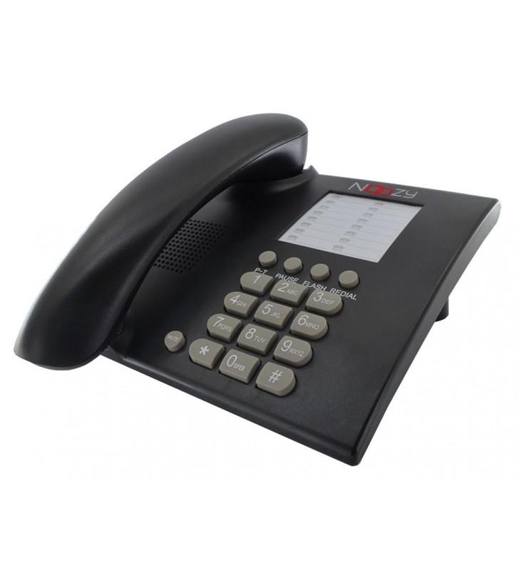 Σταθερό Ψηφιακό Τηλέφωνο Noozy Phinea N28 Μαύρο