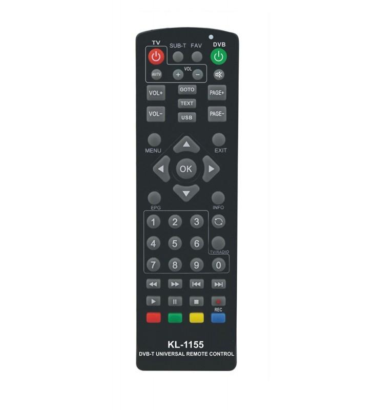 Πολυτηλεχειριστήριο αποκωδικοποιητών DVB-T/DVB-S KL-1155