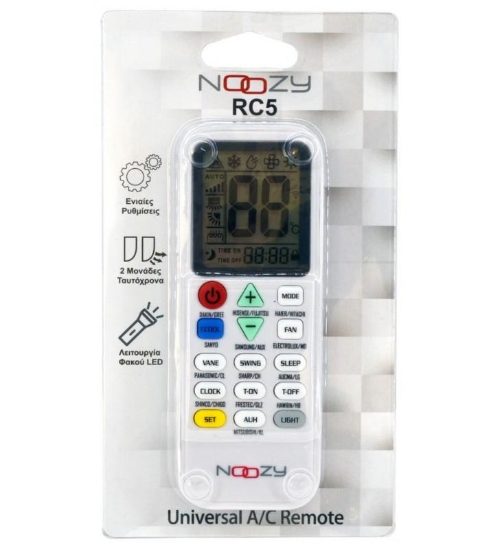 Τηλεχειριστήριο Noozy RC5 για Κλιματιστικά