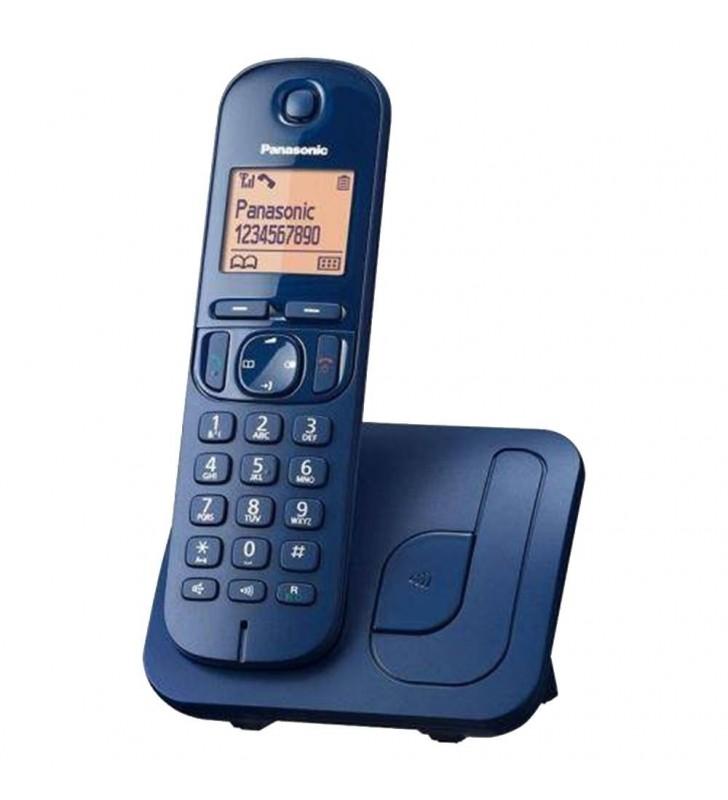 Ασύρματο Ψηφιακό Τηλέφωνο Panasonic KX-TGC210GRC Μπλε με Ανοιχτή Ακρόαση, Φραγή & Λειτουργία Eco