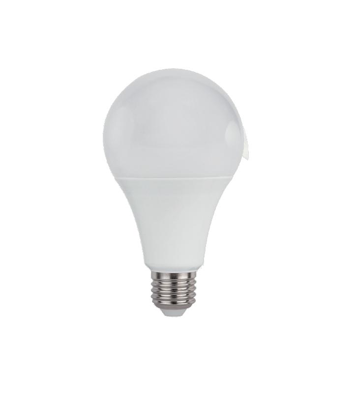 ΛΑΜΠΑ LED E27 18W A65 6400K 1700 Lm Elmark (99LED850CW)