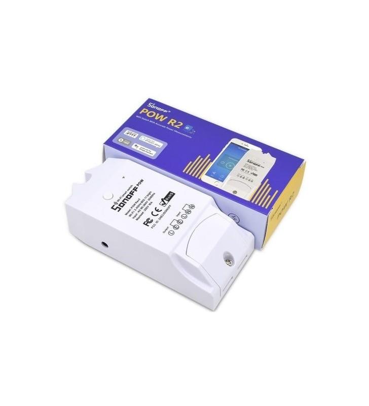 Original Sonoff POW R2 - Έξυπνος Ασύρματος Διακόπτης παρακολούθησης ισχύος 15A - Smart Home