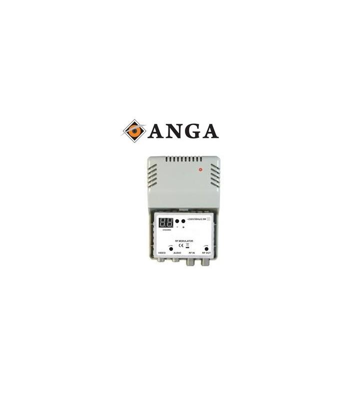 ANGA Modulator RF-30 ME LED MONO με LED Display, VHF: 2.. 4 - 5.. 12, UHF: 21-69