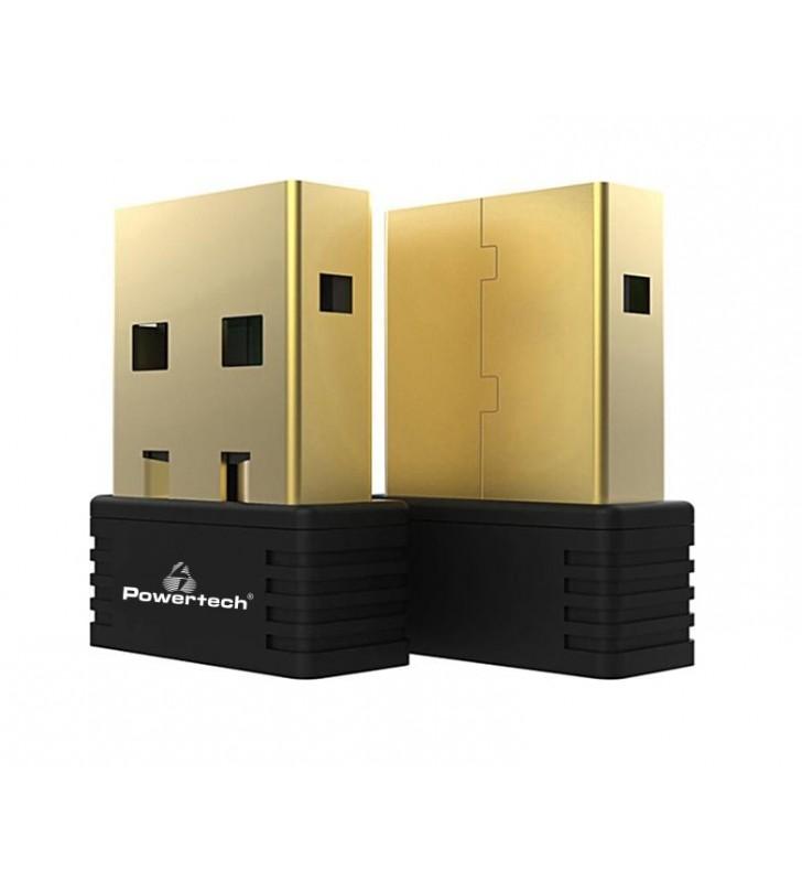 Wireless USB nano adapter, 150Mbps, 2.4GHz, MT7601 POWERTECH PT-694