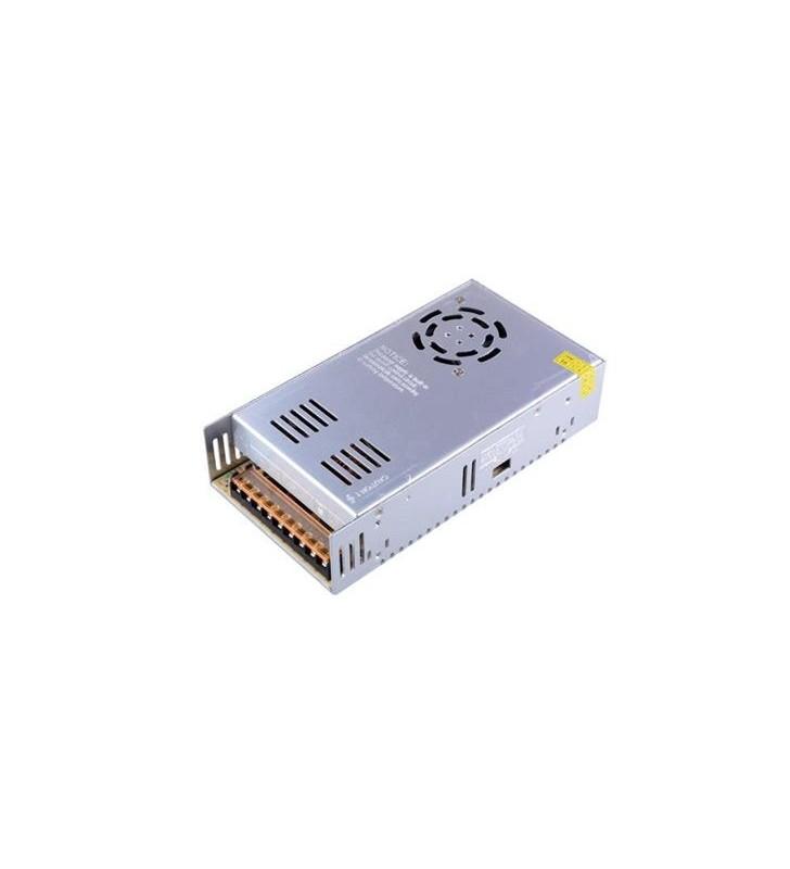 ΤΡΟΦΟΔΟΤΙΚΟ ΜΕΤΑΛΛΙΚΟ 12V DC 500W IP20 FERRARA (147-70518)