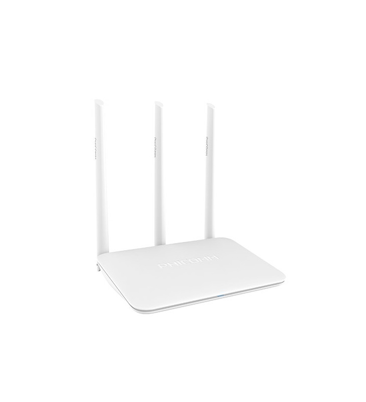 Phicomm KE 2M Wireless router, 2.4GHz, 300Mb/s, 2T3R, 4x FE