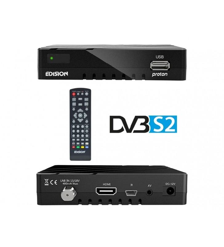 Δορυφορικός δέκτης EDISION PROTON DVB-S2 Full HD