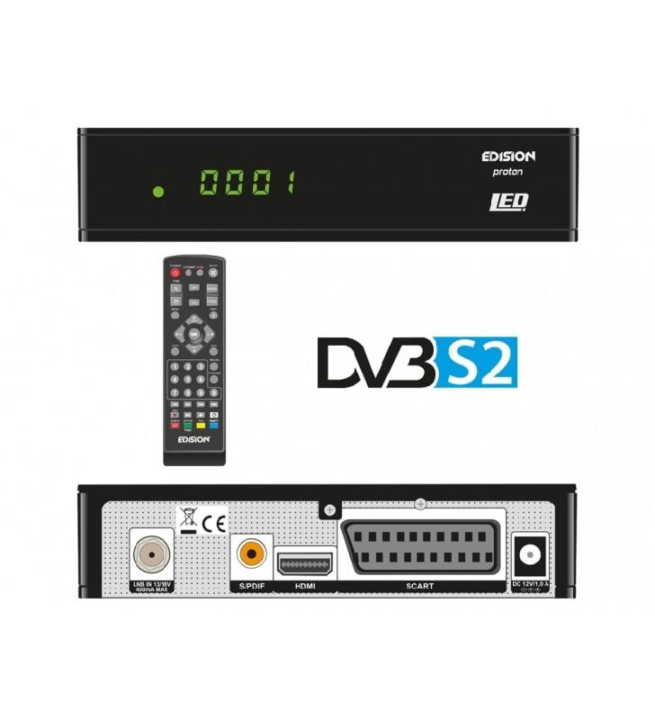 Δορυφορικός δέκτης EDISION PROTON LED DVB-S2 Full HD