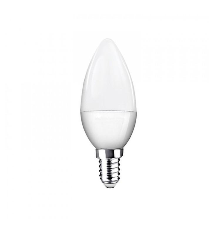 Λάμπα LED Κεράκι E14 8W 4500K (ΦΩΣ ΗΜΕΡΑΣ) C37 180o 650Lm 2R (2RE14845C)
