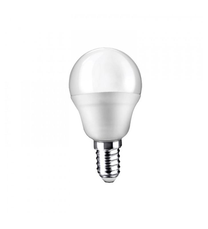 Λάμπα LED Σφαιρική E14 8W 6400K (ΨΥΧΡΟ) G45 180o 660Lm 2R (2RE14865MG)