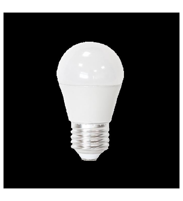 Λάμπα LED Σφαιρική E27 5,5W 6400K (ΨΥΧΡΟ) G45 180o 480Lm FSL (2RE275565MG)