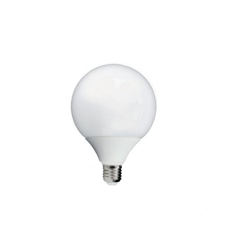 ΛΑΜΠΑ LED E27 15W GLOBE G95 3000K 1200 lm Elmark (99LED699)