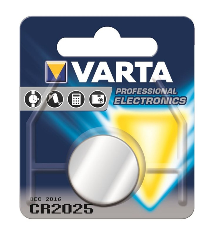 ΑΛΚΑΛΙΚΗ ΜΠΑΤΑΡΙΑ CR2025 VARTA 1τεμ