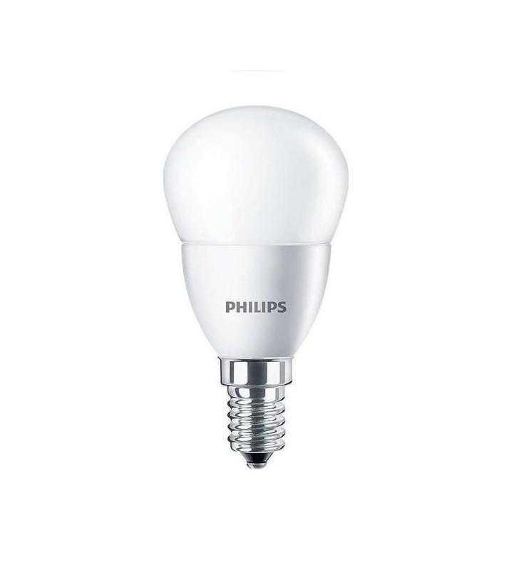 CorePro LED Σφαιρικό ND 7W E14 840 P48 FR 830lm 4000K (ΦΩΣ ΗΜΕΡΑΣ) - (703076) Philips
