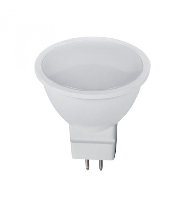 LED SPOT MR16 6W 12v AC 3000k 480 Lm 120° Elmark (99LED880WW)