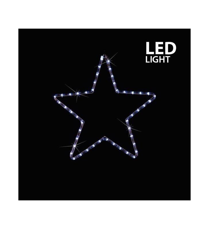 ΑΣΤΕΡΙ ΛΕΥΚΟ LED ΜΕ 1 Μ. ΦΩΤ/ΝΑ, 32X29 ΕΚ. IP44 - (600-20200)