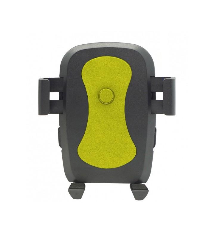"""Βάση αυτοκινήτου C1 Universal για Smartphone έως 6"""", μαύρη-κίτρινη (ACC-160)"""