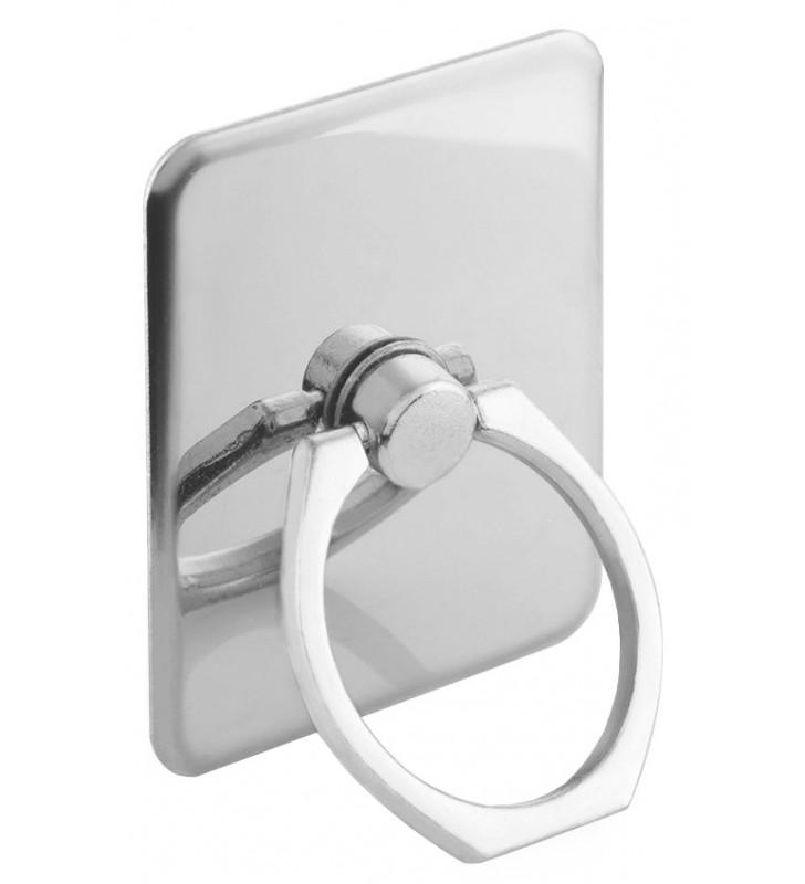 Metal ring holder για smartphones , ασημί (ACC-226)