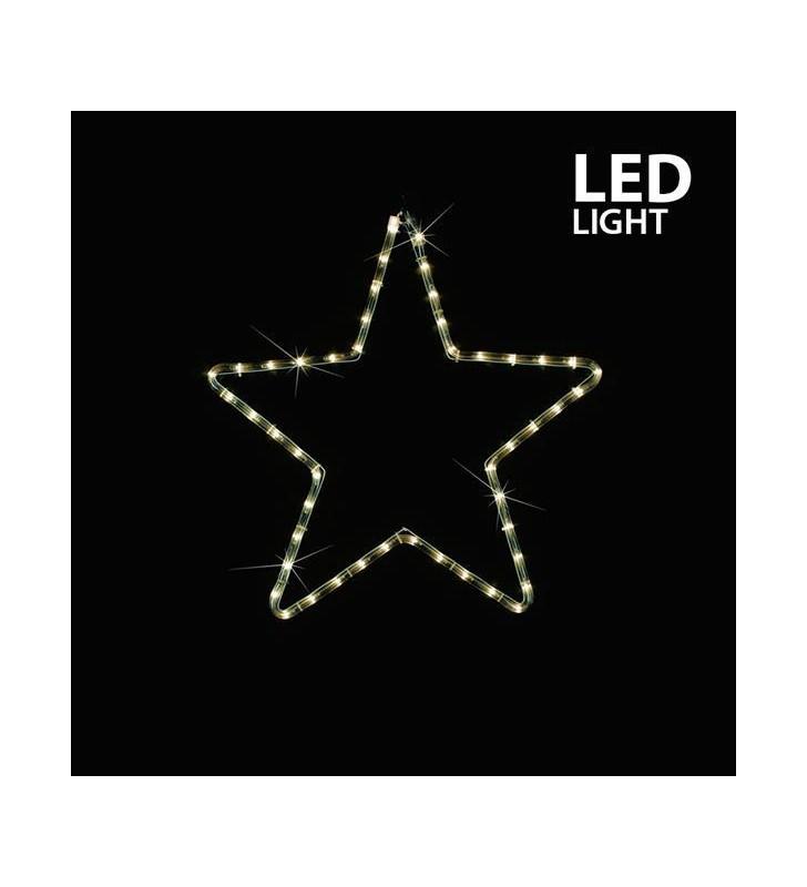 ΑΣΤΕΡΙ ΘΕΡΜΟ ΛΕΥΚΟ LED ΜΕ 1 Μ. ΦΩΤ/ΝΑ, 32X29 ΕΚ. IP44 - (600-20003)
