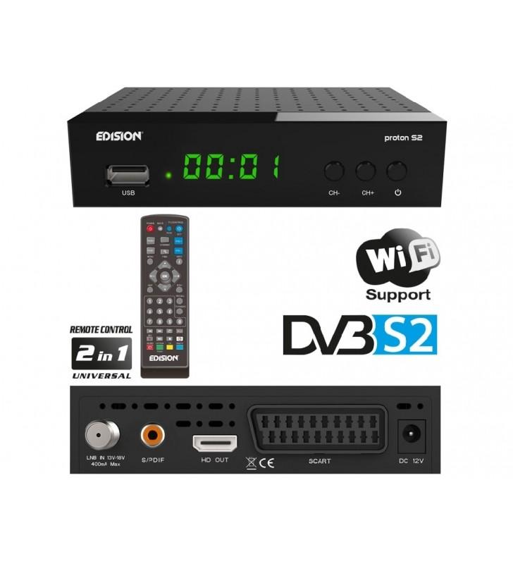Δορυφορικός δέκτης EDISION PROTON S2 DVB-S2 Full HD