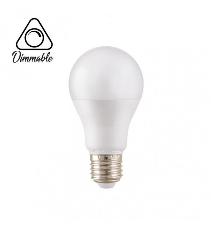 Λαμπτήρας Κοινός LED E27 10W 3000K (ΘΕΡΜΟ) Α60 800Lm Dimmable 2R (2RE271030D)