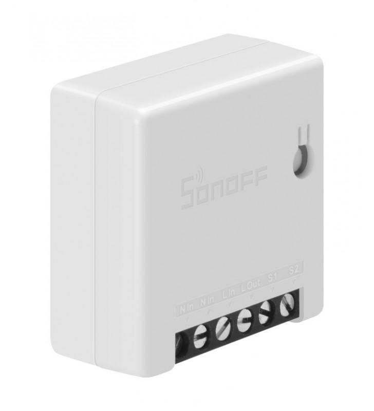 Original Sonoff MINI Two Way, Smart Διακόπτης WiFi 10A λευκός AC 100-240V