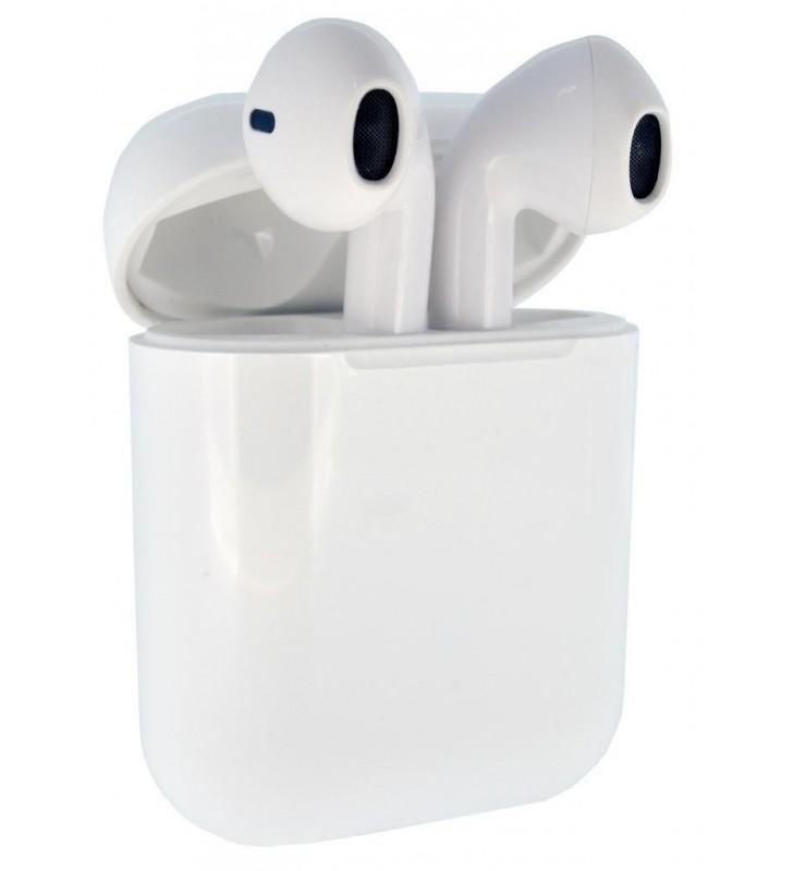 Wireless Bluetooth Noozy EP Series Wireless Stereo Λευκό με Βάση Φόρτισης, Μεταφοράς. Bt: 4.2