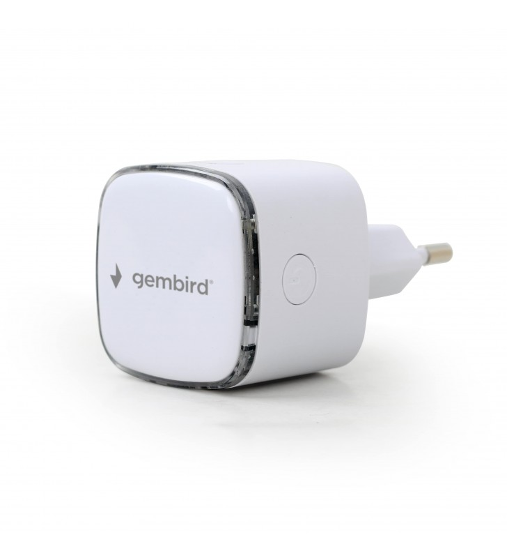 WI-FI Repeater 300Mbps Λευκο - (WNP-RP300-02) GEMBIRD