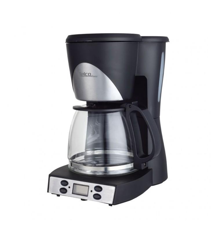 Ηλεκτρική καφετιέρα 1000W με χρονοδιακόπτη & προγράμματα 1.5Lt CM6623T TELCO