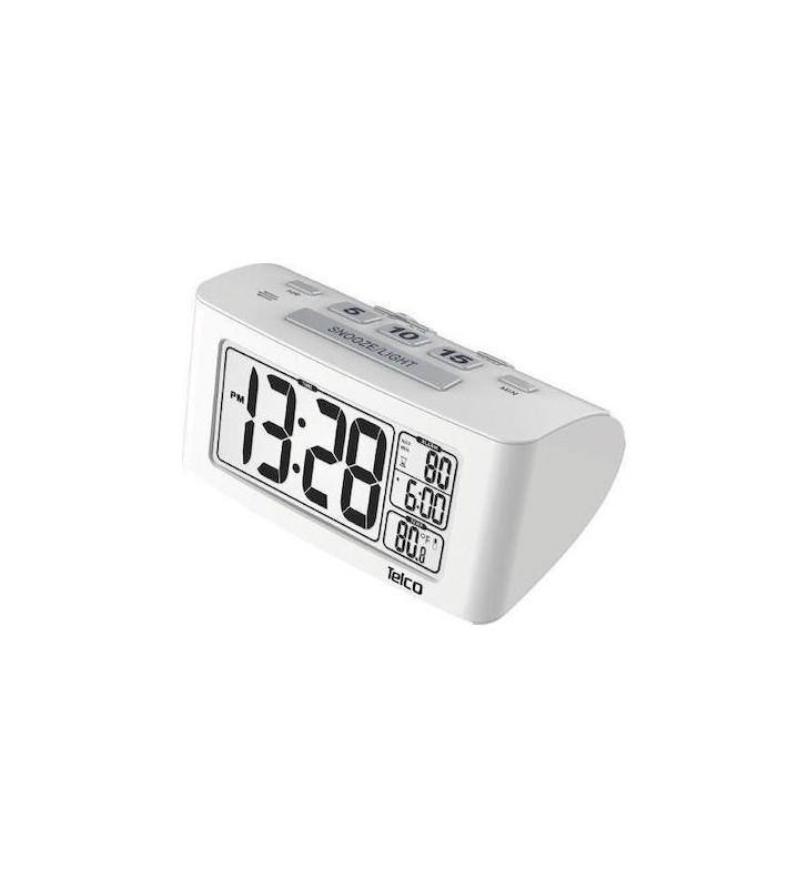 ΕΞΥΠΝΟ ΨΗΦ. ΡΟΛΟΪ - ΞΥΠΝΗΤΗΡΙ ΜΕ LCD ΦΩΤΕΙΖ/ΝΗ OΘΟΝΗ & ΕΝΔ. ΘΕΡΜΟΚΡ. ΛΕΥΚΟ Ε0117S TELCO