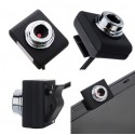 Web Camera 0.3MP, Video, με κλιπ, Black PT-507 POWERTECH