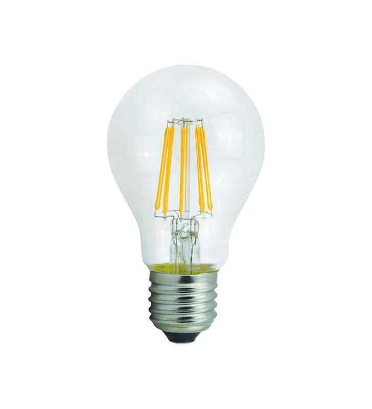 ΛΑΜΠΑ LED ΚΟΙΝΗ FILAMENT 6W E27 2700K 220-240V CLEAR - (147-81112) EUROLAMP